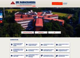 sriramachandra.edu.in