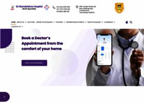 sriramakrishnahospital.com