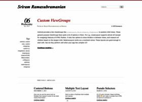 sriramramani.wordpress.com