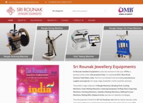 srirounakjewelleryequipments.com