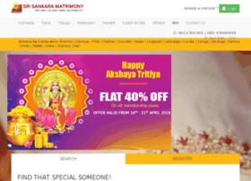 srisankaramatrimonial.com