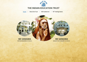srisankaraschools.org