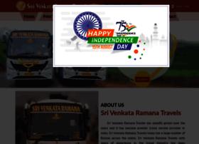 srivenkataramanatravels.com