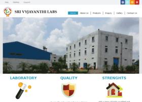 srivyjayanthilabs.com
