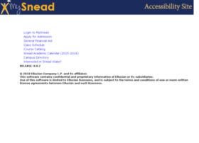 ssb.snead.edu