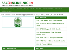 ssc-online-nic.in