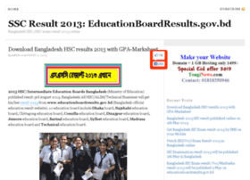 ssc-result-2012.tonginews.com