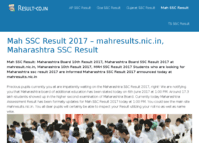 ssc.mahresults.in