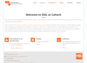 ssel.caltech.edu