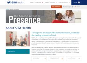 ssm-connect.ssmhc.com