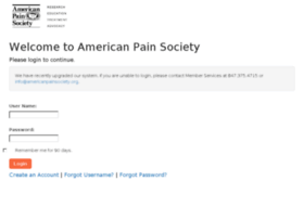 sso.americanpainsociety.org