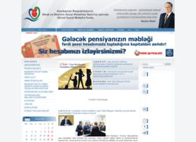 sspf.gov.az
