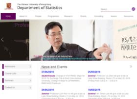 sta.cuhk.edu.hk