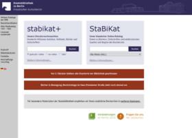 stabikat.staatsbibliothek-berlin.de