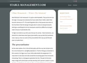stable-management.com