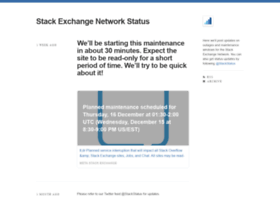 stackstatus.net