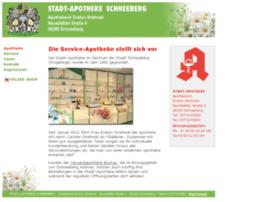 stadtapotheke-schneeberg.de