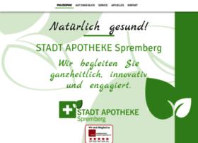 stadtapotheke-spremberg.de