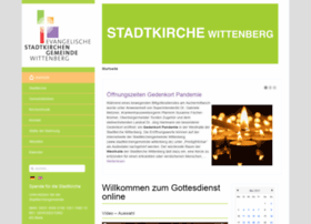 stadtkirchengemeinde-wittenberg.de