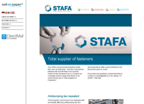 stafanewsletter.nl