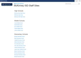 staff.mckinneyisd.net