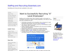 staffing-and-recruiting-essentials.com