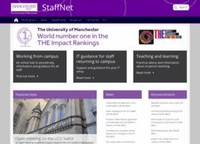 staffnet.manchester.ac.uk