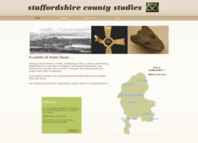 staffordshirecountystudies.uk