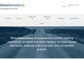 stage.siriusdecisions.com