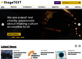stagetext.org