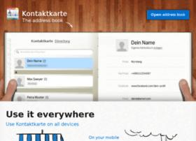 staging.kontaktkarte.de