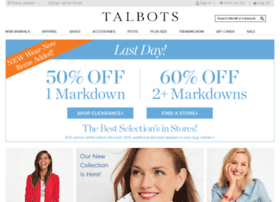 staging.talbots.com