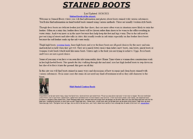 stainedboots.com