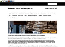 stainlesssteelbacksplash.com