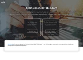 stainlesssteeltable.com