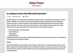 stakepower.com