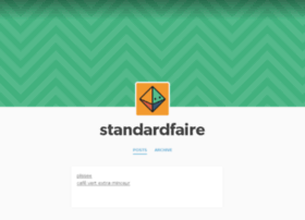 standardfaire.tumblr.com