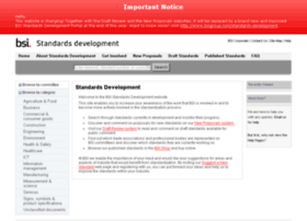 standardsdevelopment.bsigroup.com