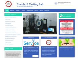 standardtestinglab.com