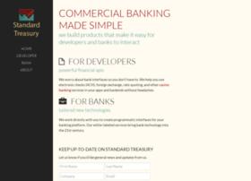 standardtreasury.com