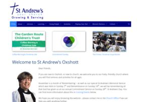 standrewsoxshott.org.uk
