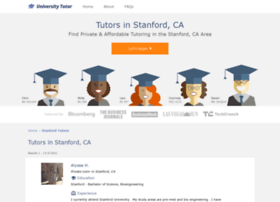 stanford.universitytutor.com