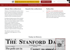 stanforddailyarchive.com