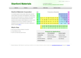 stanfordmaterials.com