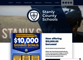 stanlycountyschools.org