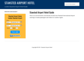 stanstedairporthotel.com