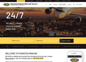 stanstedminicab.co.uk