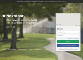 stapletondnvr.nextdoor.com