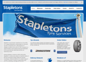stapletons-tyres.co.uk