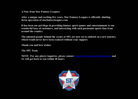 starfantasyleagues.com